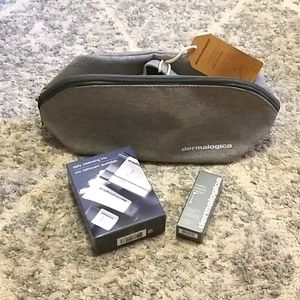Dermalogical Products & Travel Bag